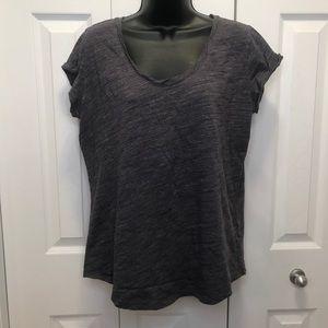 Denver Hayes Artisan T-Shirt Grey Scoop Neck